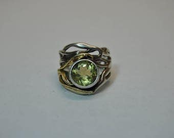 Naturally Silver Elven Ring