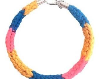 Unicorn Crocheted Necklace