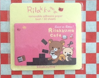 Cute Rilakkuma Sticky Notes