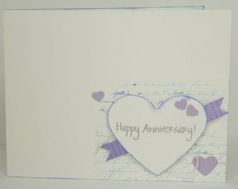 Simple Anniversary Card with Envelope ***Free Shipping***