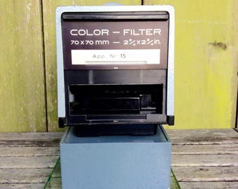 Durst M 600 Color Filter Photo Enlarger 60 X 60 and Repro-Vision Color Filter 70 X 70 mm Magnifier Head