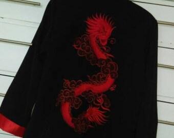 Vintage Dragon Kimono