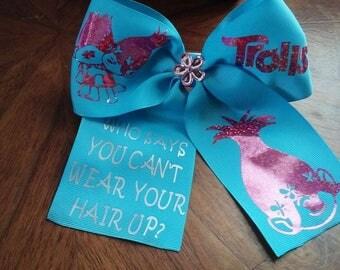 Trolls Poppy Cheer Hair Bow