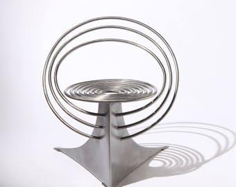 Bespoke Steel Chair (Oribit Chair)