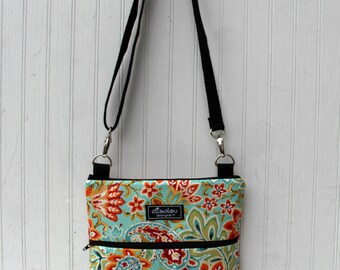 iPad Padded Sling Bag- Ikat Paisley