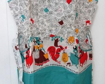 vintage Princess Peggy farmhouse apron NOS