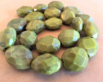 Olive Turquoise Nuggets (Item #5727-5729)