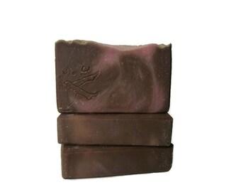 Relaxing Lavender Vanilla Handmade Cold Processed Vegan Artisan Soap - Cruelty Free