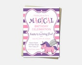 Unicorn Invitations - Uni...