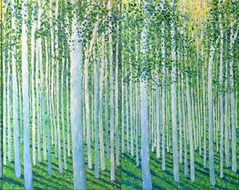 High Summer Tree Meditation QUAD