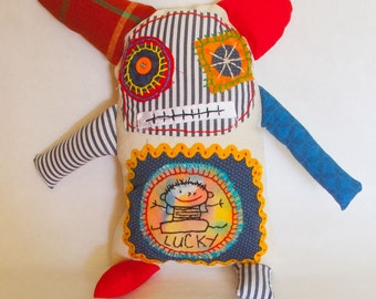 Plush Stuffed Monster Doll