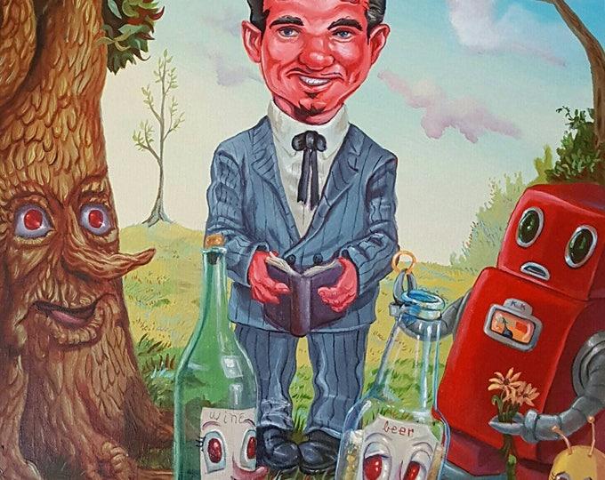 Bottles - Original painting by Mr Hooper of Nashville Tennessee