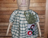 Primitive | Rag Doll | Annie |  Raggedy | Home Decor | Decoration | Hand Made