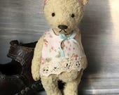 OOAK Handmade Vintage Style 5 inch Viscose Artist Teddy bear Greta
