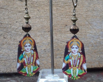 Krishna Rama earrings