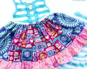 PAW Patrol Skye Everest dress Momi boutique custom dress