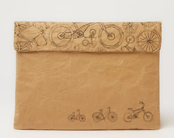 Bicycles Laptop Paper Sleeve