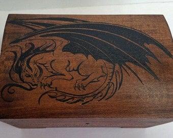 Dragon Music Box with key