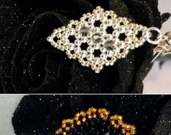 WRD Orignial Laced Earrings-Beadwork,handmade