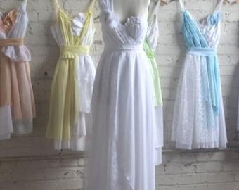 Final Payment for Tessa White's Custom Bridesmaids Dresses, Wedding Dress & Flower Girl Dress