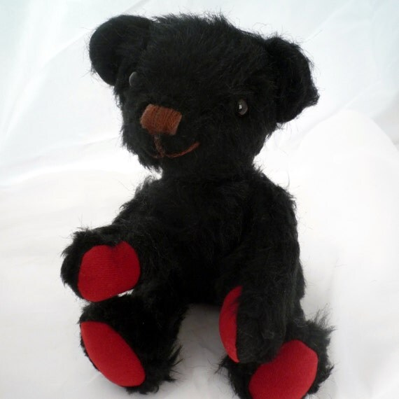 Black Bear 12 inch Teddy Bear