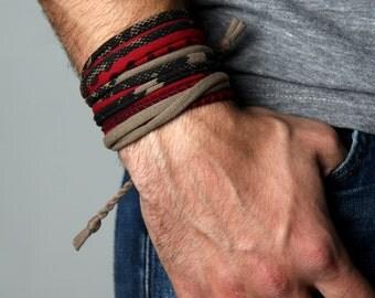 Bracelet, Cuff Bracelet, String Bracelet, Cool Bracelet, Yoga Bracelet, Chunky Bracelet, Unique Bracelet, Arm Bracelet, Hippie Bracelet