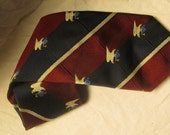 Jordan Marsh Bicentennial Tie Vintage Neck Tie Patriotic Tie Stripe Limited Edition Eagle Necktie Wide Width Menswear 1970s 70s