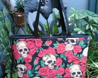 Skulls #4 Shopping or Record Bag