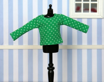 Long sleeved t-shirt for Blythe (no. 1432)