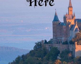 Premade Kindle Book Cover Art eBook Romance, Historical, Castle