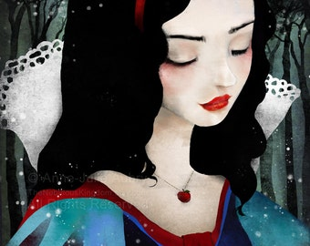 Snow White - Deluxe Edition Print