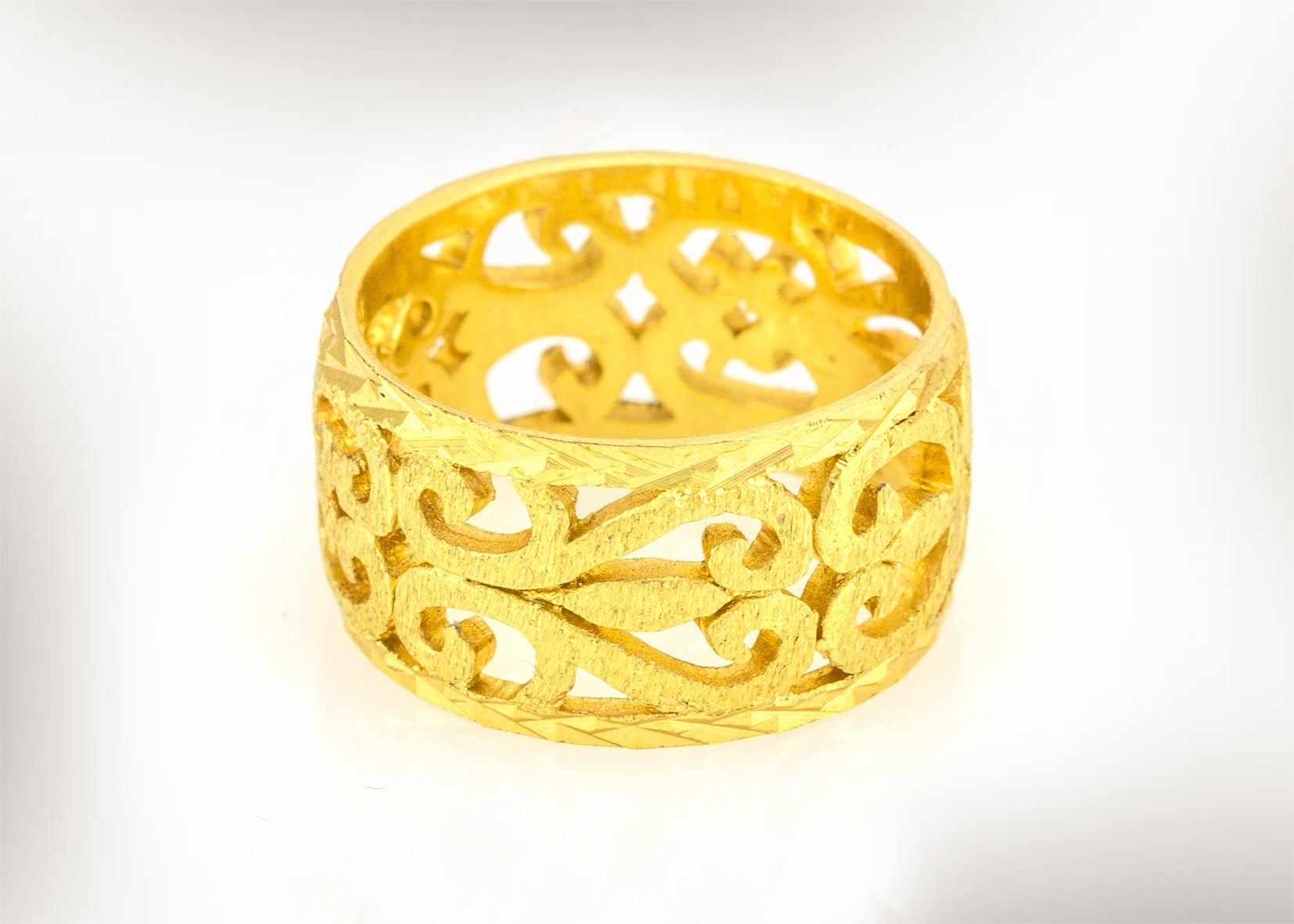 Unique Wedding Ring Wedding ring Vintage Women Gold Wedding
