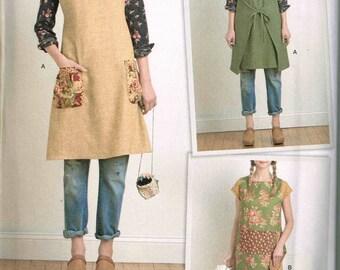 Tunic Dress Tabard Boho Granny Chic  Sewing Pattern Simplicity 8230 Misses Size XS S M L XL Bust 31.5 32.5 34 36 38 40 42 44 46 Uncut New