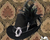 Renaissance Suede Tall Hat