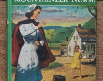 Vintage book 1951 Cherry Ames MOUNTAINEER NURSE picture cover