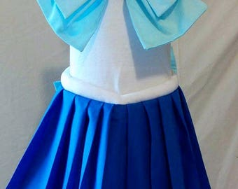Child's Sailor Scout - All Sailor Scouts Available Cosplay. Skirt, Front/Back Bow and Collar!