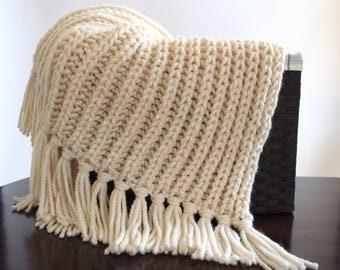 Fisherman's Throw Knitting Pattern