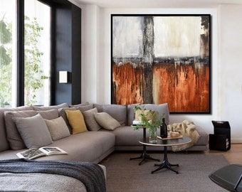 Original Abstract Painting Large Modern Art Modern abstract Oil Painting Design Wall Art Artwork Contemporary Art by Sky Whitman