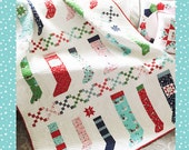 Pixie Stockings Quilt Pattern - PDF - Tasha Noel