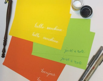 Set of Note Cards (6)