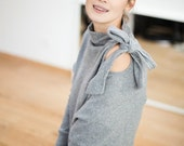 SALE - Comfy sweater | Silver sweater | Romantic sweater | LeMuse comfy sweater