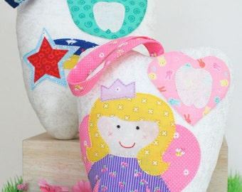 Tooth Fairy Cushions Pattern