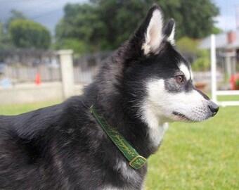 One Ring Elvish Black Speech Book Lover Tolkien Dog Collars