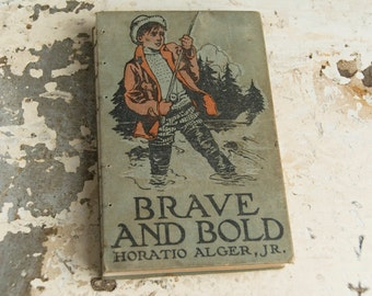 1911 BRAVE and BOLD Vintage Lined Journal Notebook