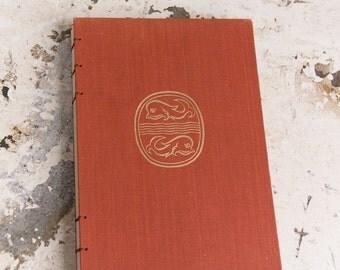 1957 ATHENS Vintage Sketch Notebook Journal