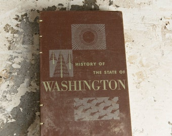 1953 WASHINGTON STATE Lined Notebook Journal