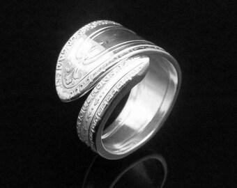Decorative Spoon Ring, Wanda aka Viennese 1927