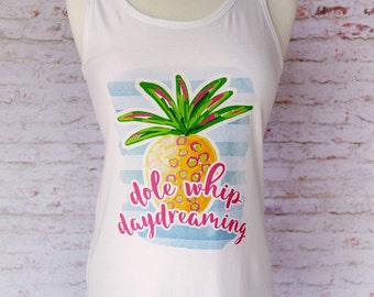 dole whip tank top, disney snacks, dole whip, dole whip float, disney shirt, disney vacation shirt, dole whip daydreaming