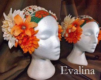 ATS Tribal Fusion Belly Dance Headpiece, Evalina