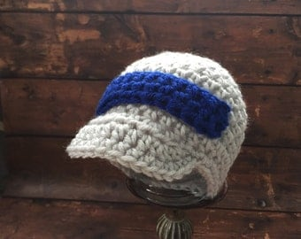 Neutral Baby Boy Coming Home Outfit, Baby Hat, Blue Baby Boy Hat,  Newborn Hat, Photo Props, Crochet Hat, Winter Hats, Newborn Boy Hat,